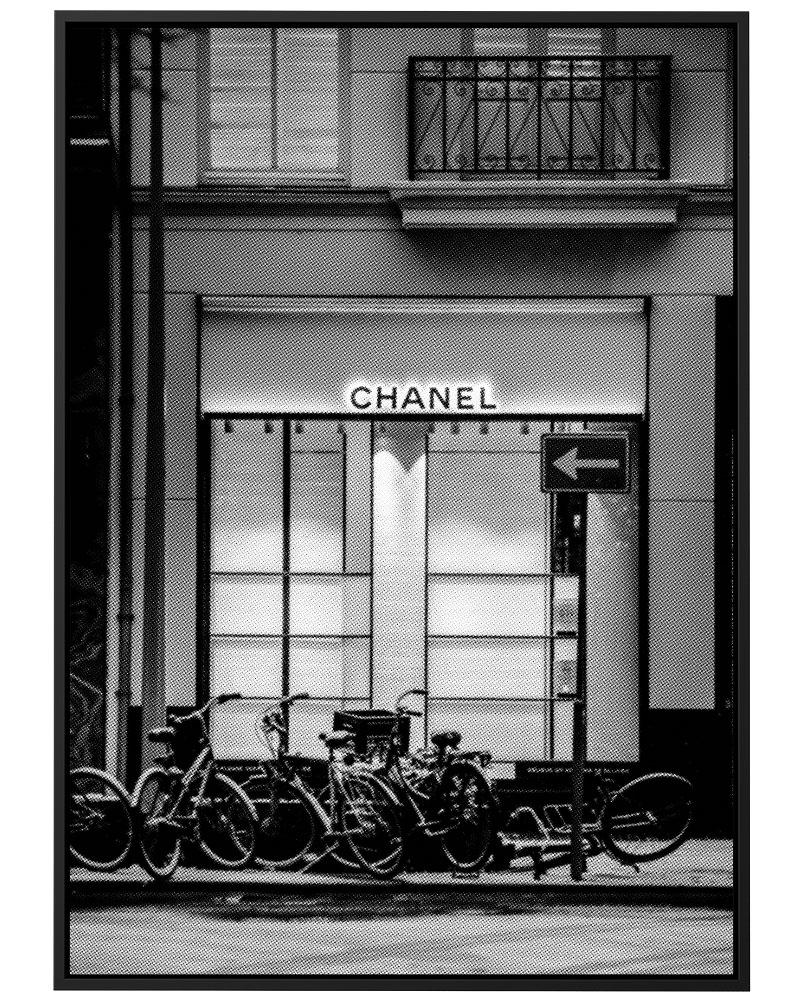 Quadro Chanel Store - Pontilhismo
