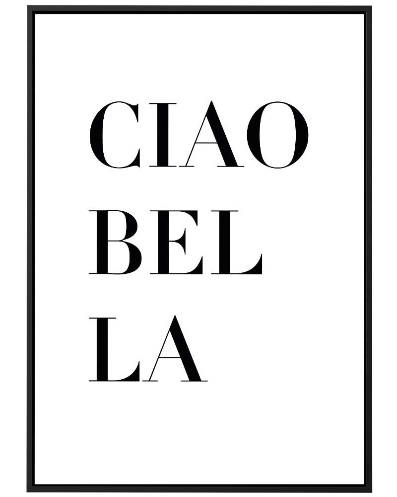 Quadro Ciao Bella