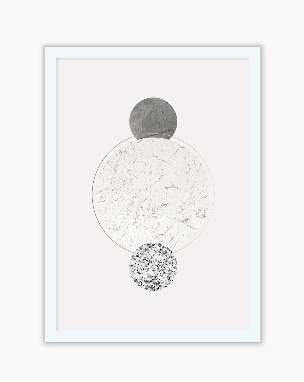 Quadro Circle Gray
