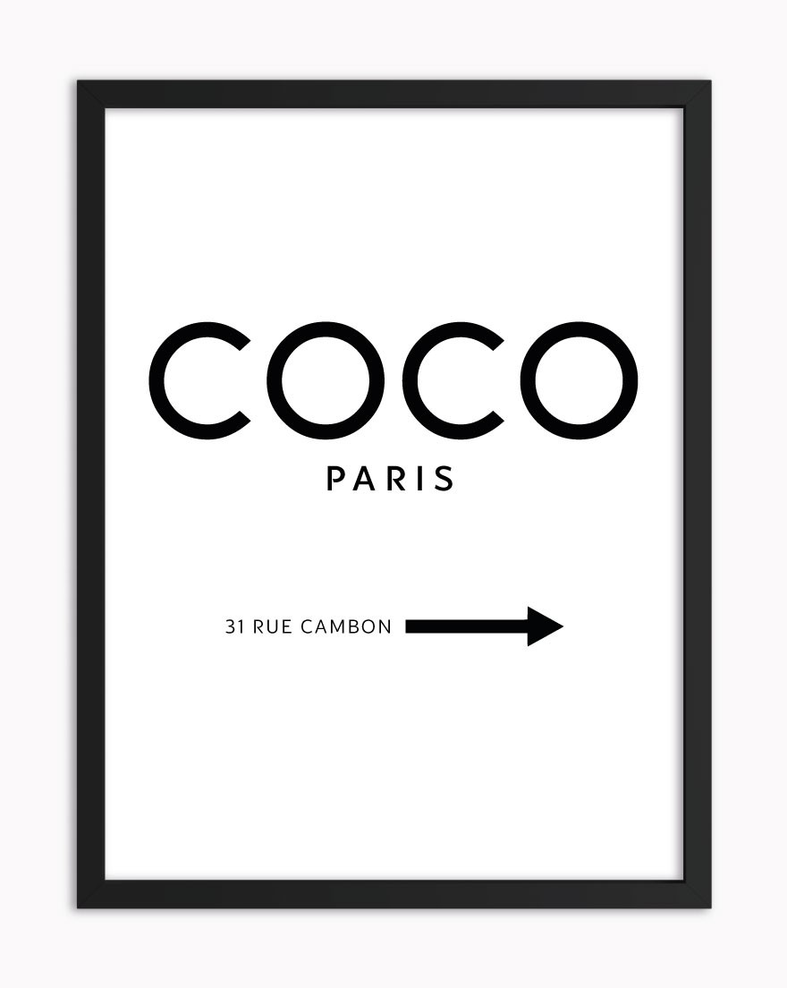 Quadro Coco Paris