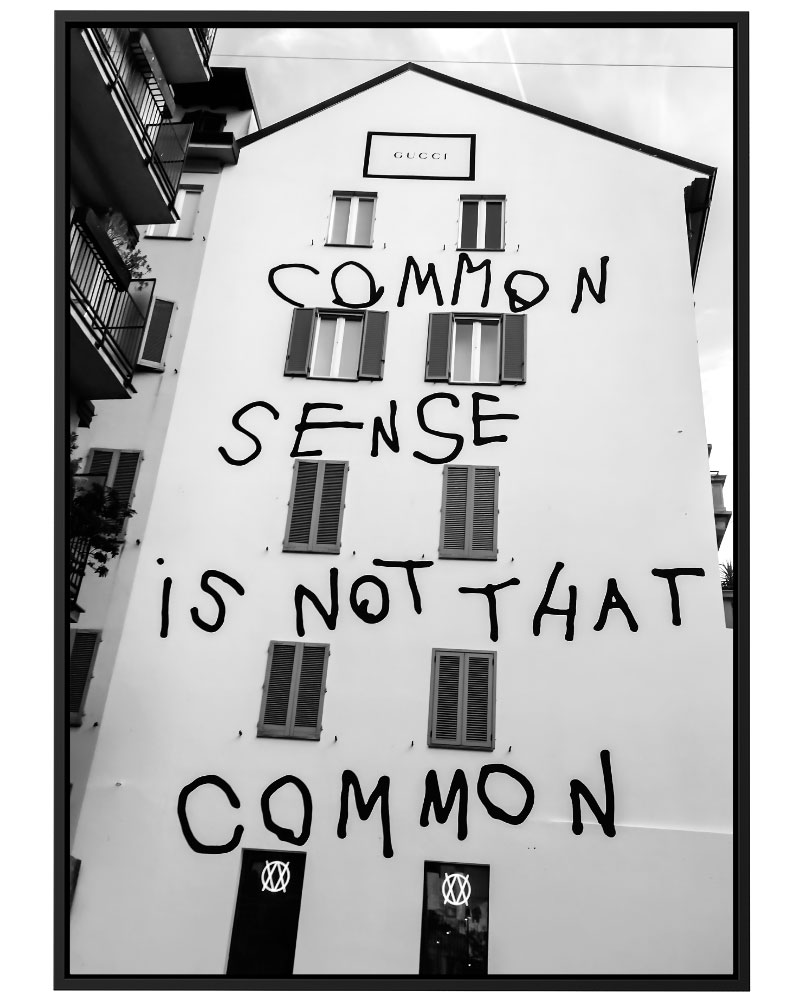 Quadro Common Sense