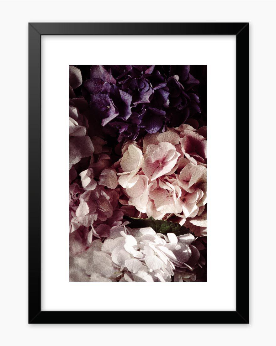 Quadro Dark Flowers