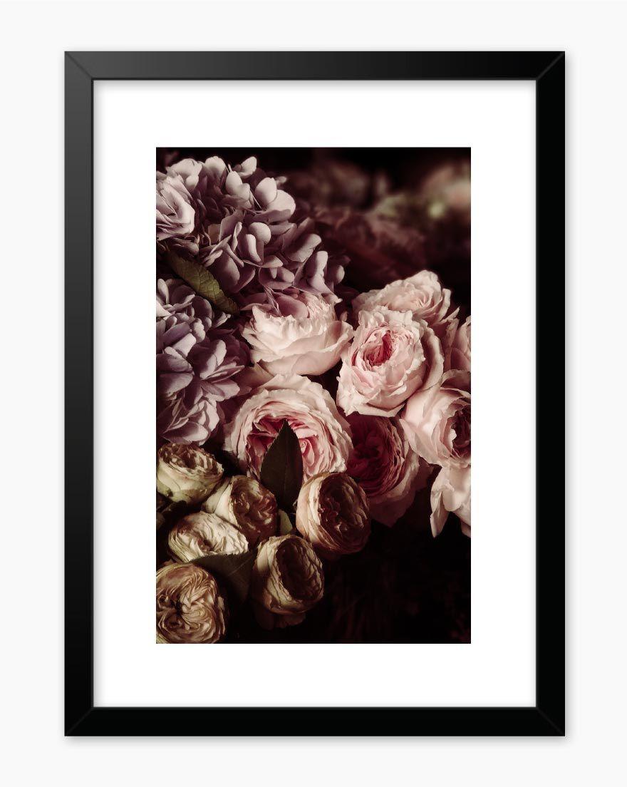 Quadro Dark Flowers III