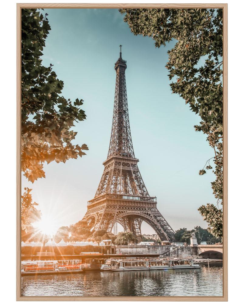 Quadro Entardecer em Paris