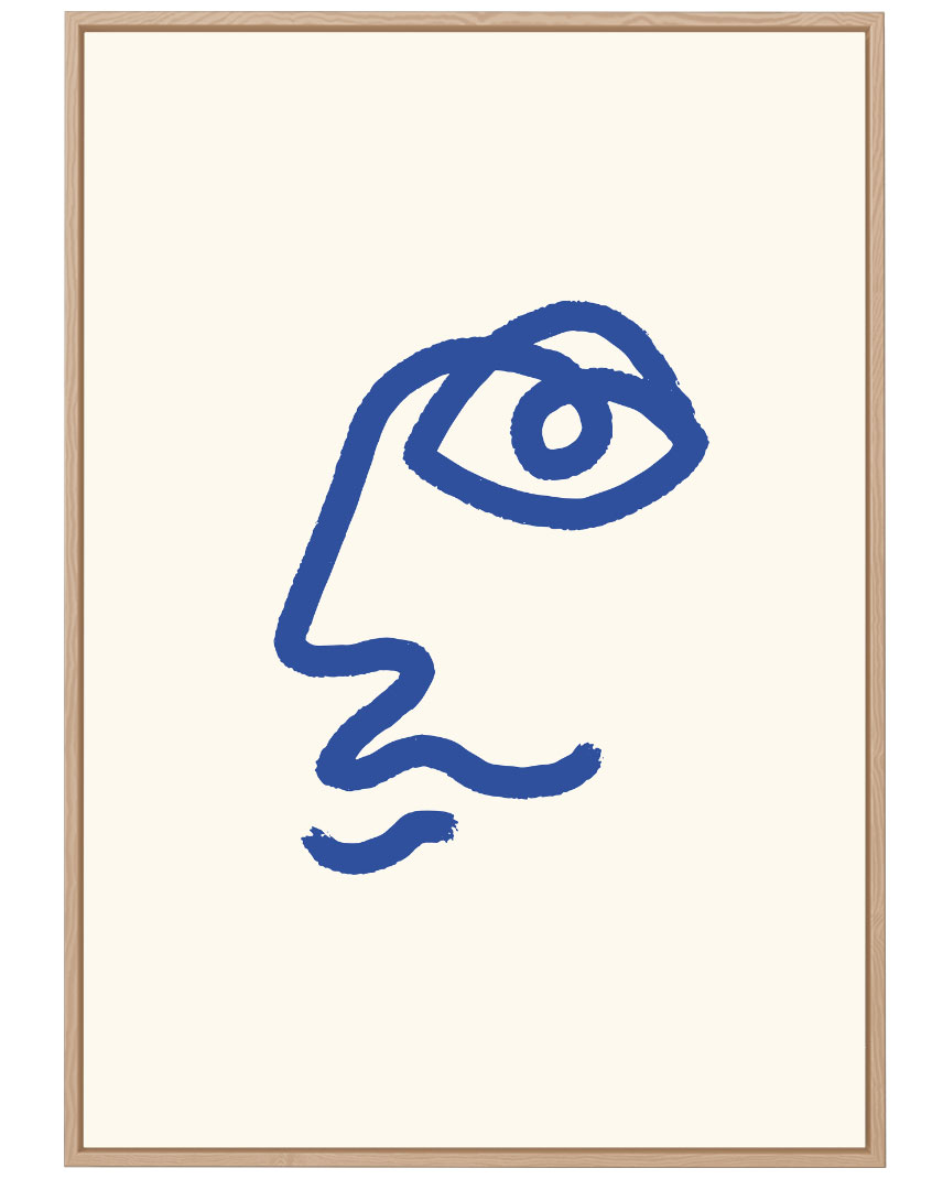 Quadro Eye Picasso