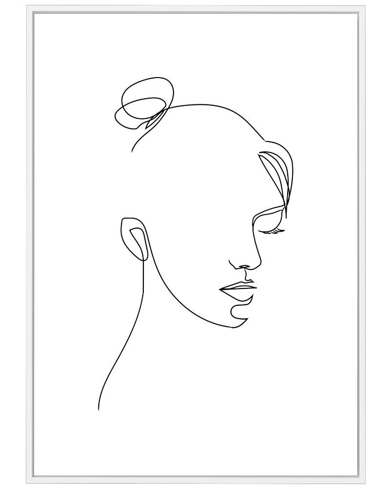 Quadro Face e Formas II