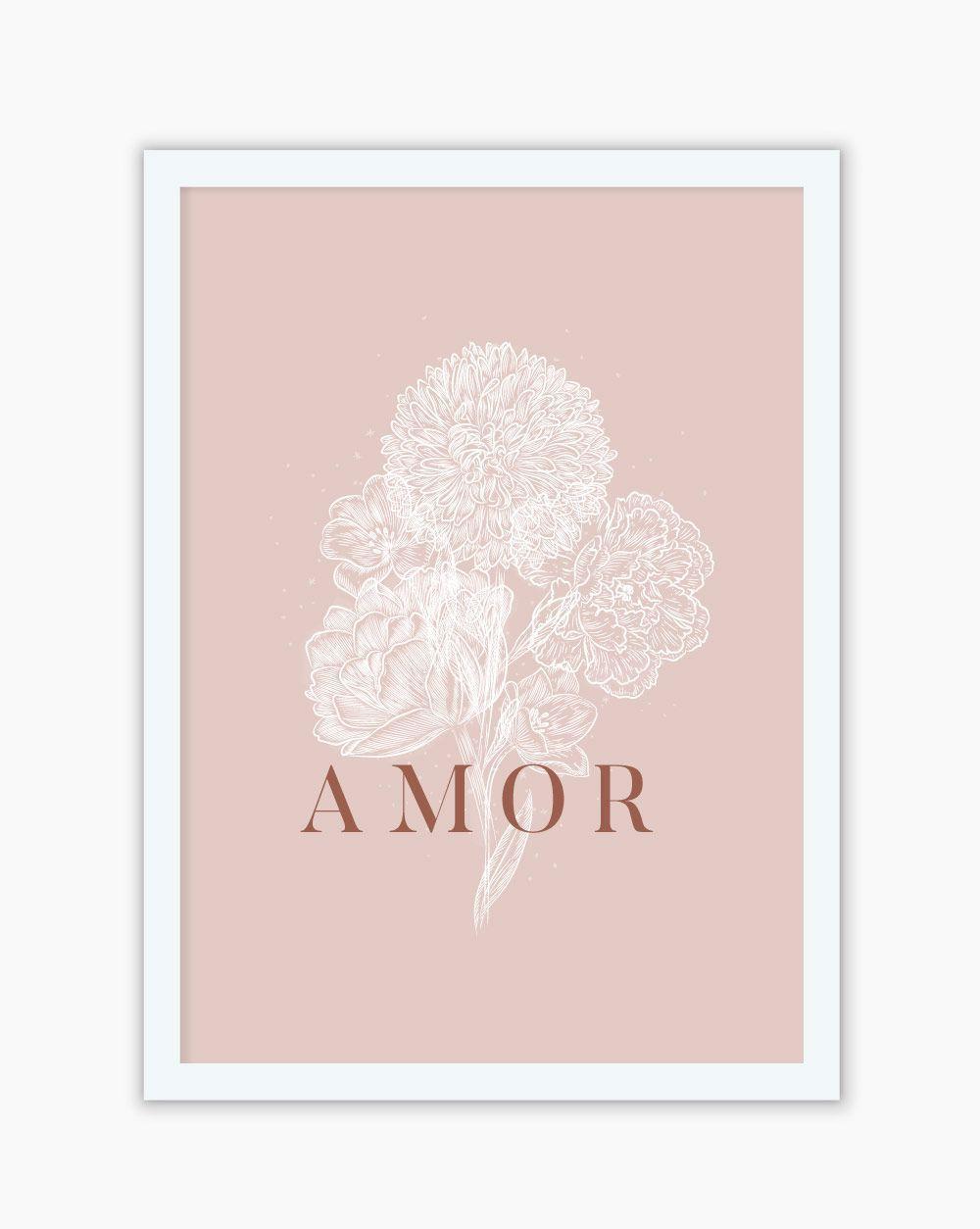 Quadro Flor Amor