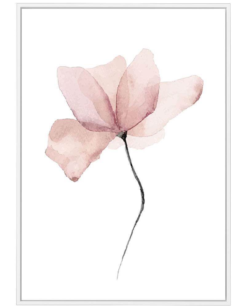 Quadro Flor Aquarelle