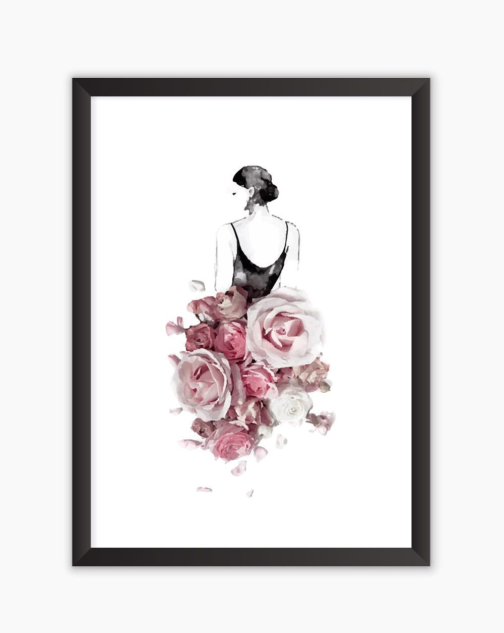 Quadro Floral Dress