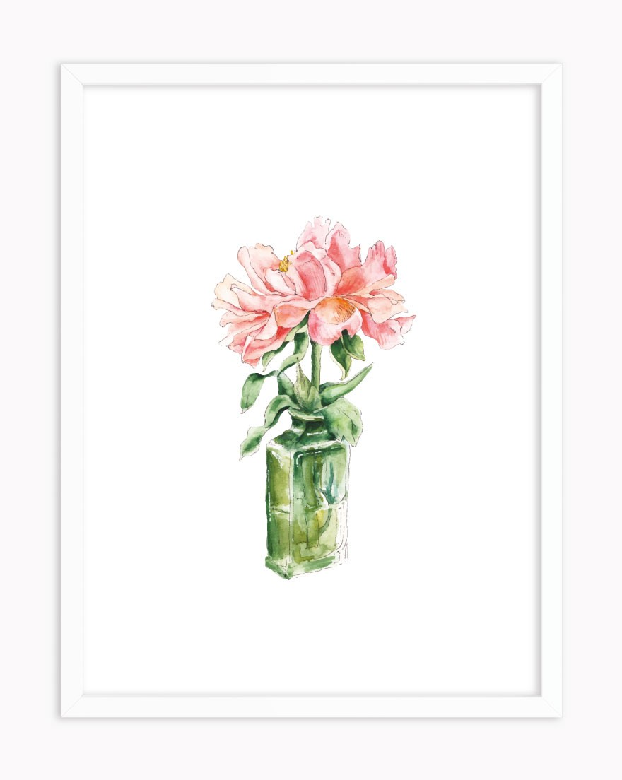 Quadro Floral Parfum