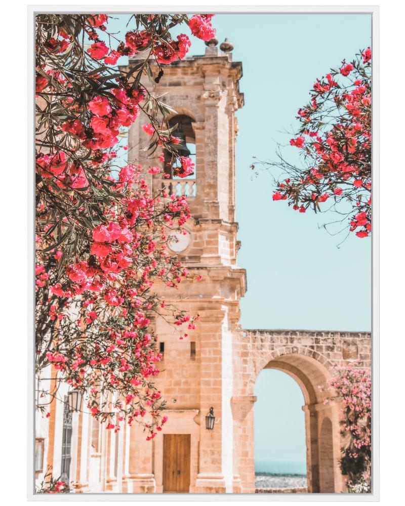 Quadro Flores e Arco