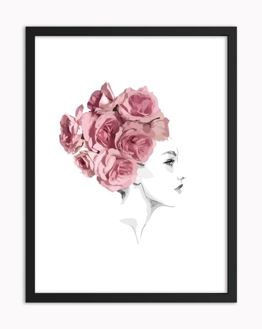 Quadro Flower Hair
