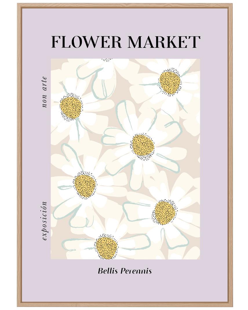 Quadro Flower Market