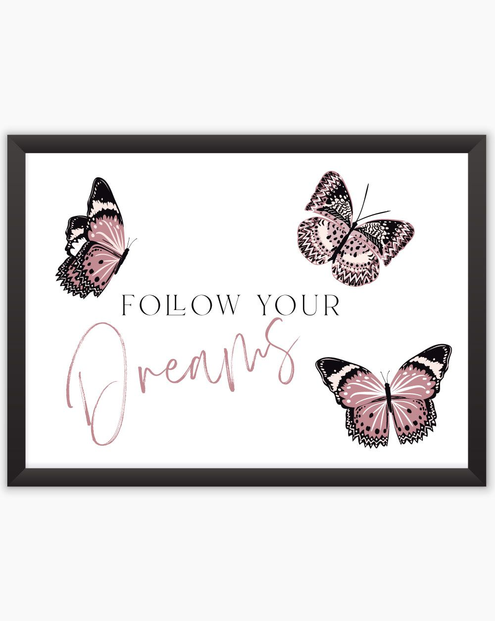 Quadro Follow Your Dreams (HORIZONTAL)
