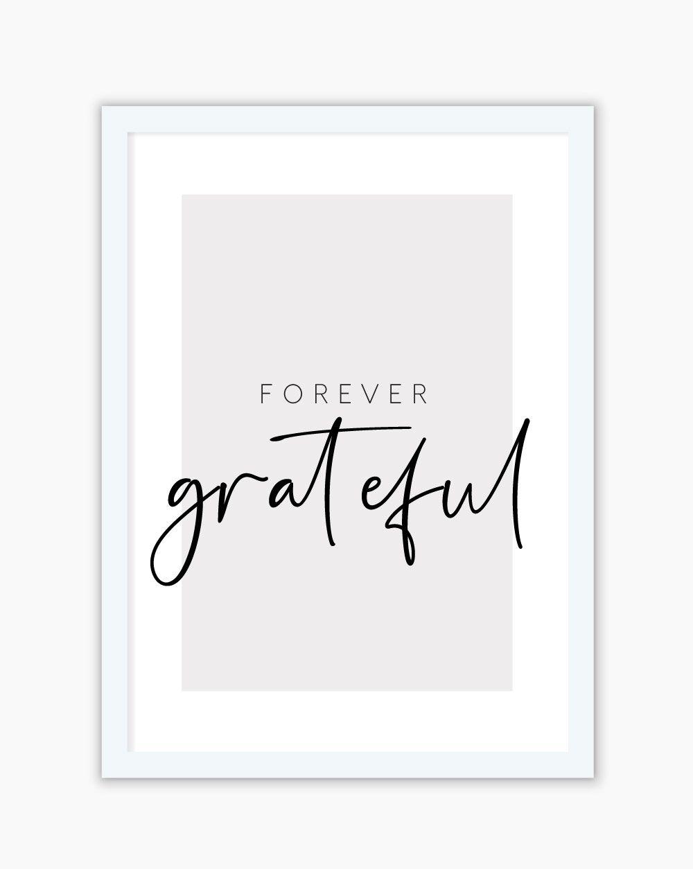 Quadro Forever Grateful