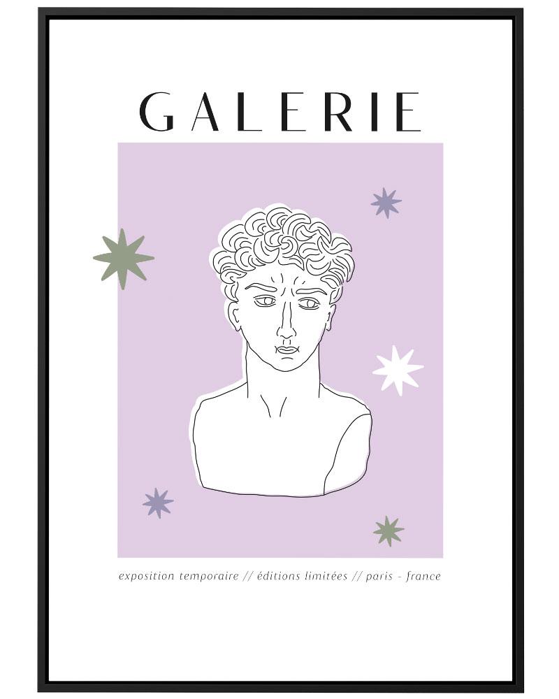 Quadro Galerie Lilac