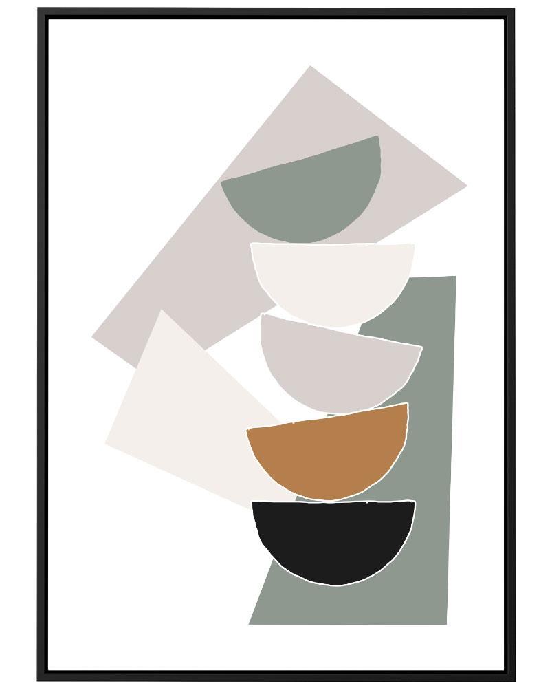 Quadro Geometria Contemporânea II