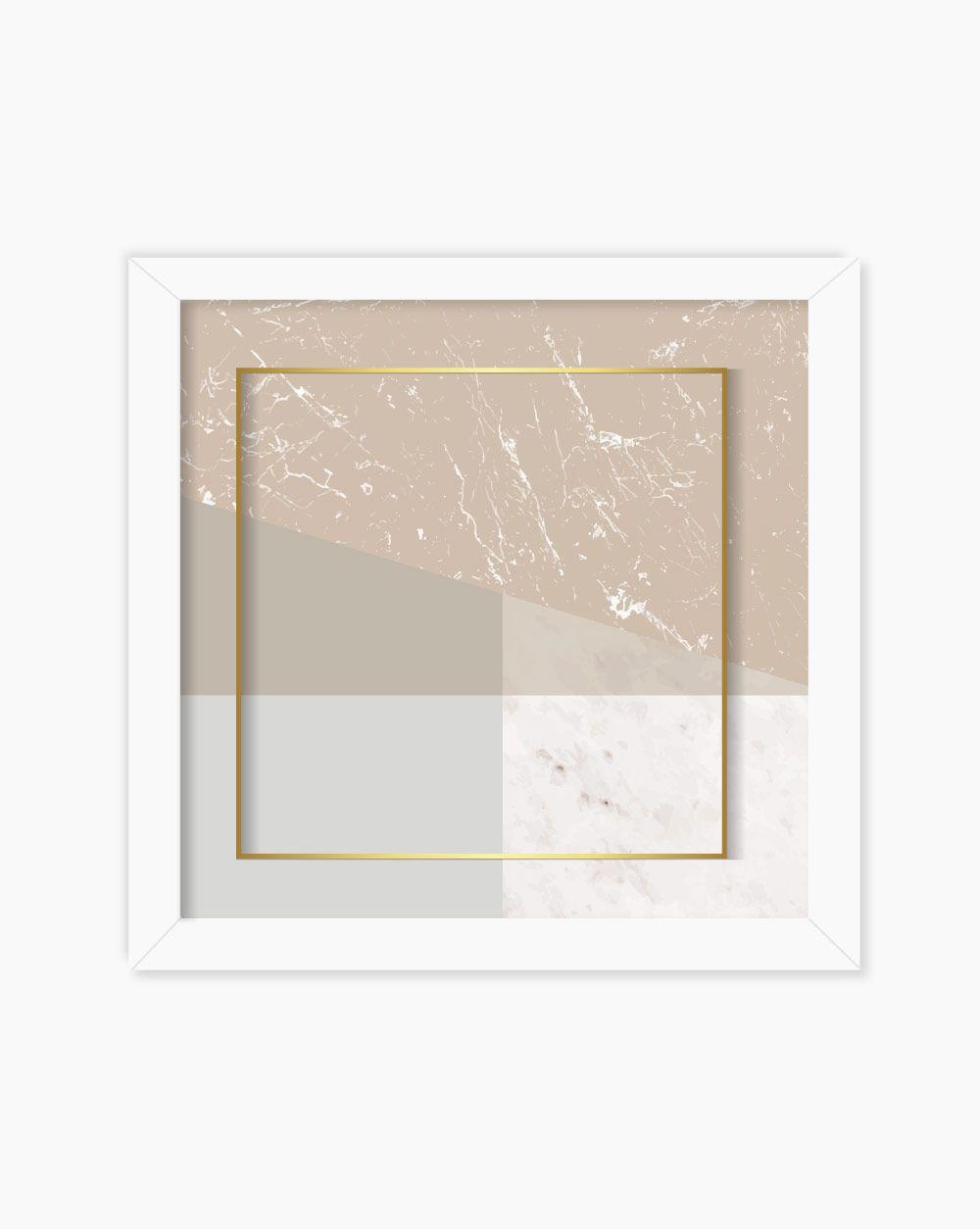 Quadro Geometric Square
