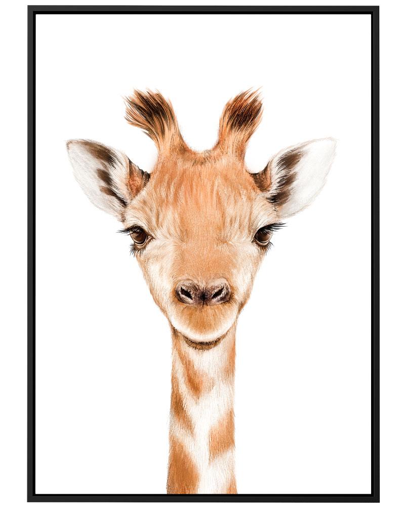 Quadro Girafa Baby