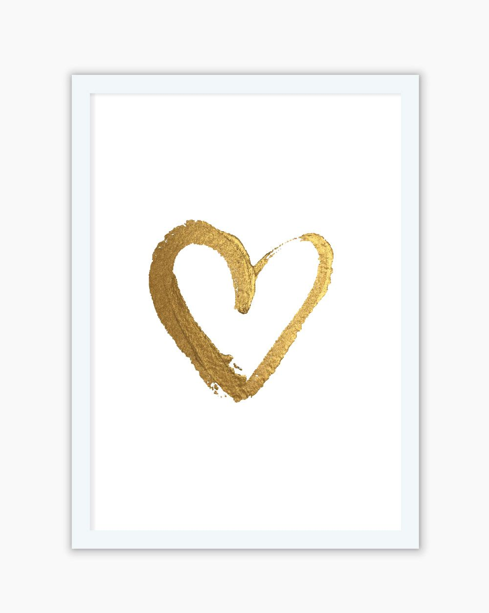 Quadro Gold Heart