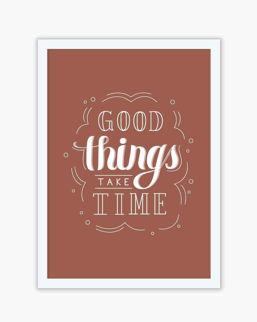 Quadro Good Things