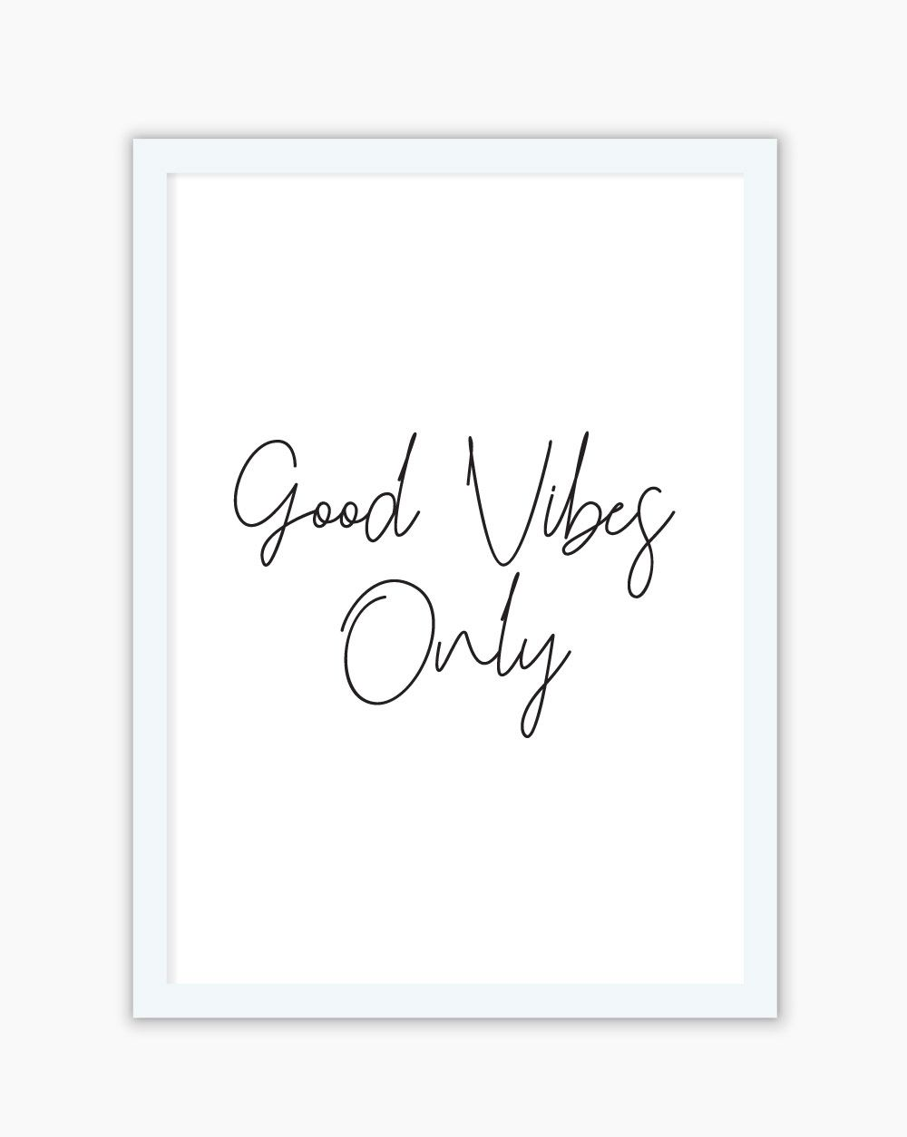 Quadro Good Vibes