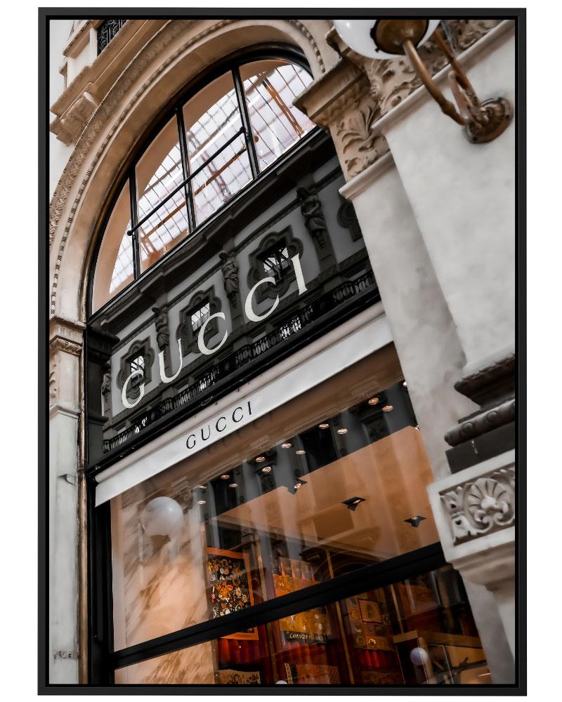 Quadro Gucci Store