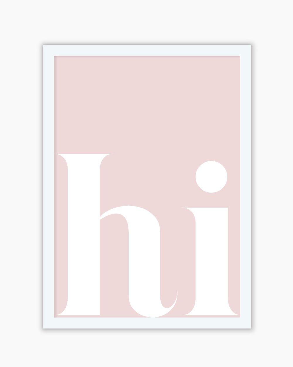 Quadro Hi Pink