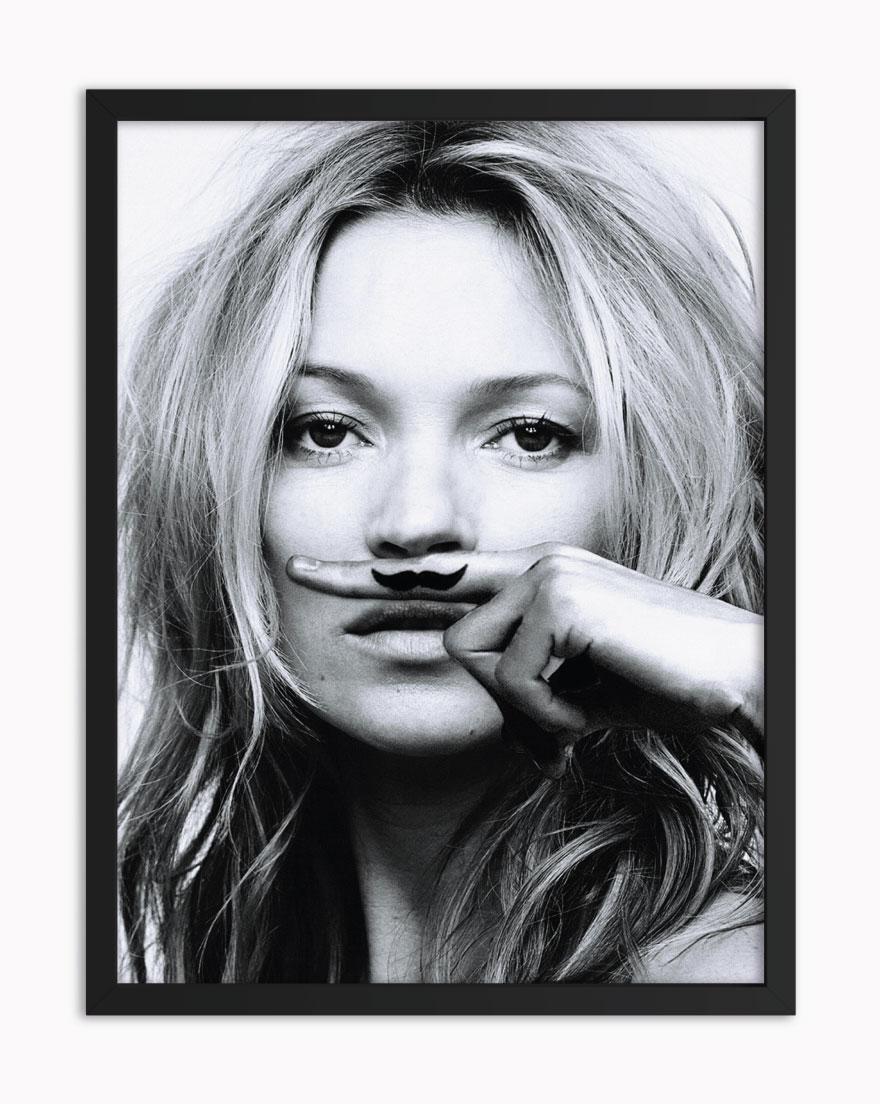 Quadro Kate Moustache