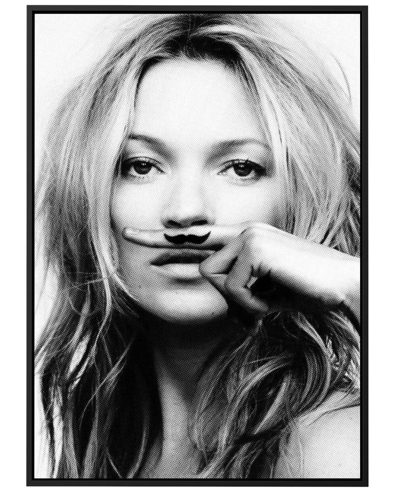 Quadro Kate Mustache - Pontilhismo
