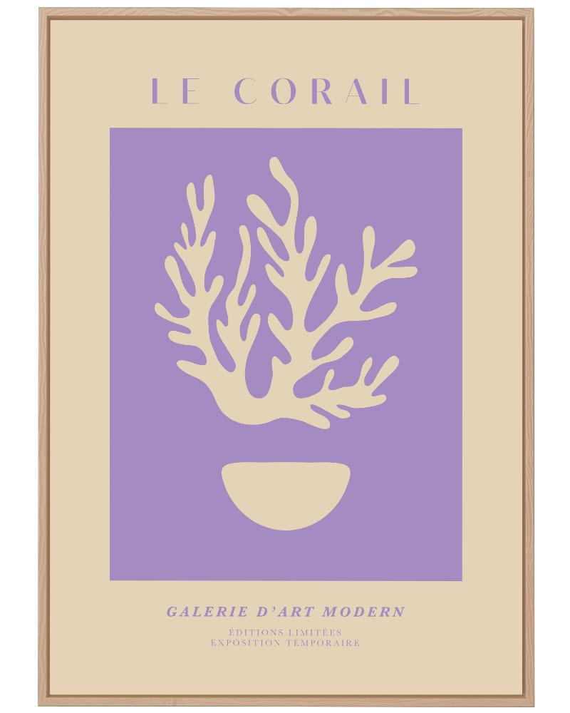 Quadro Le Corail Lilas