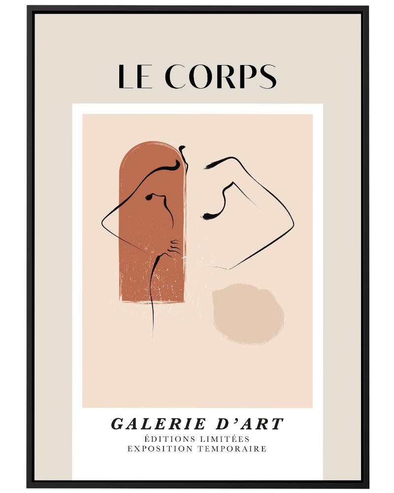 Quadro Le Corps