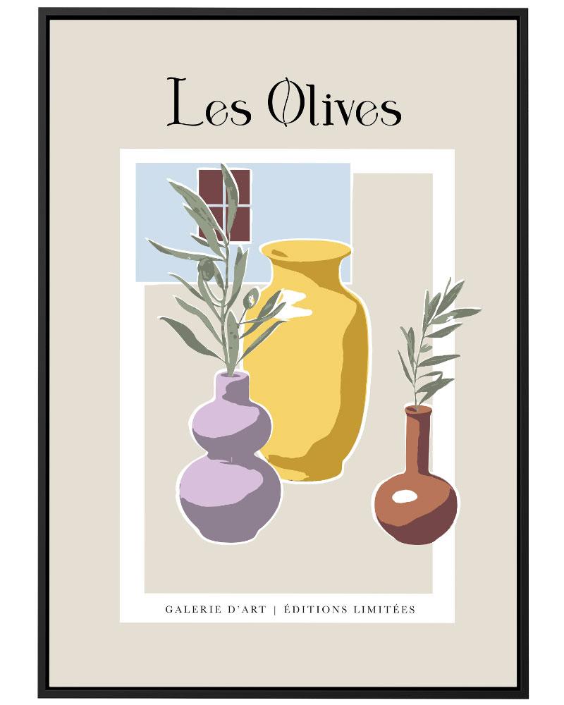 Quadro Les Olives