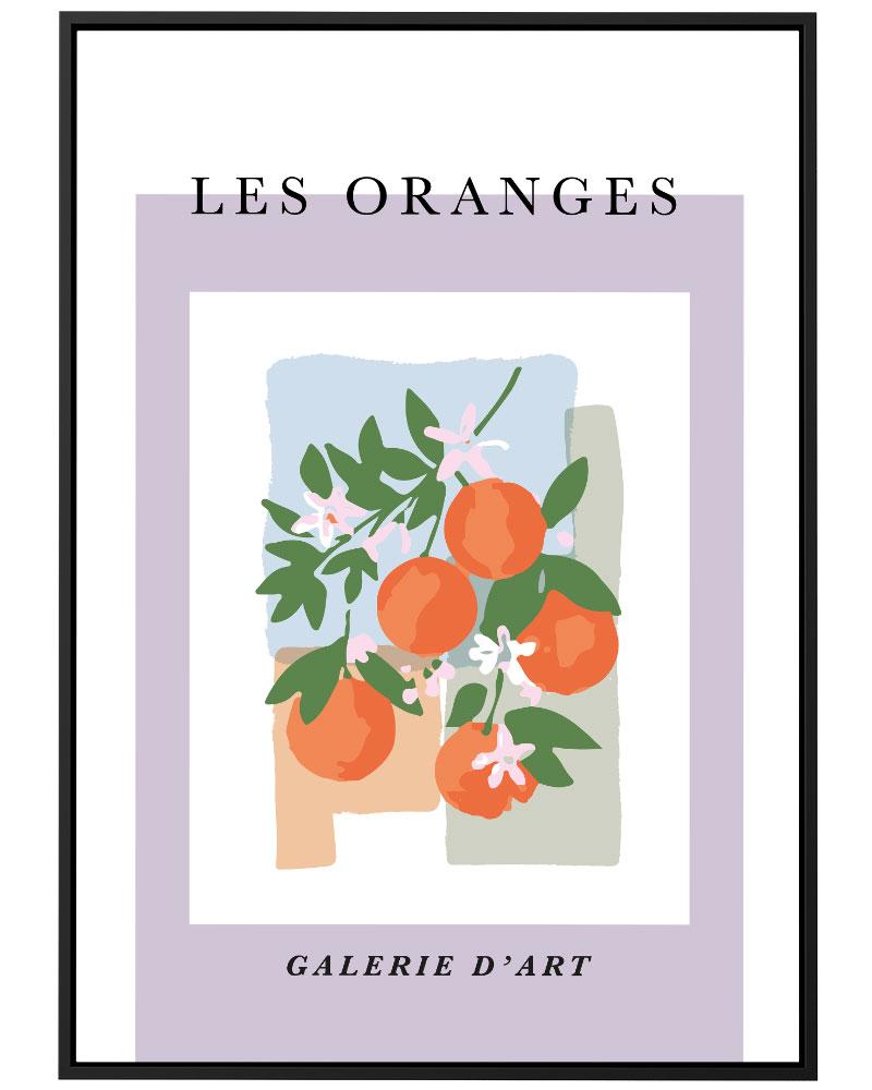 Quadro Les Orange