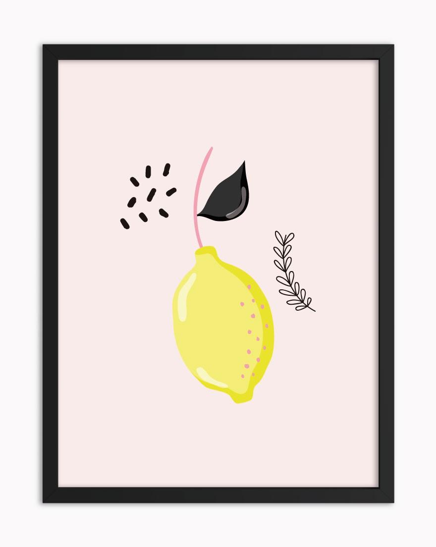 Quadro Limão Siciliano Rosé