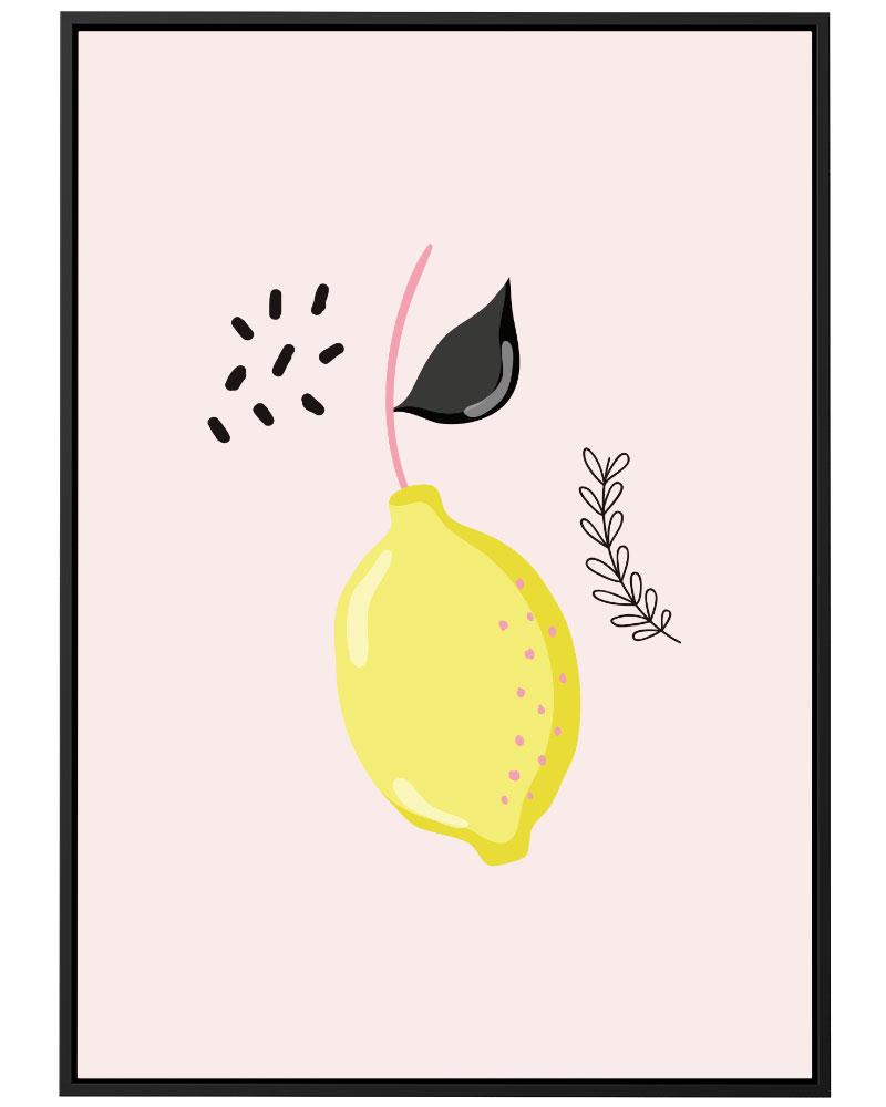 Quadro Limonada Docinha