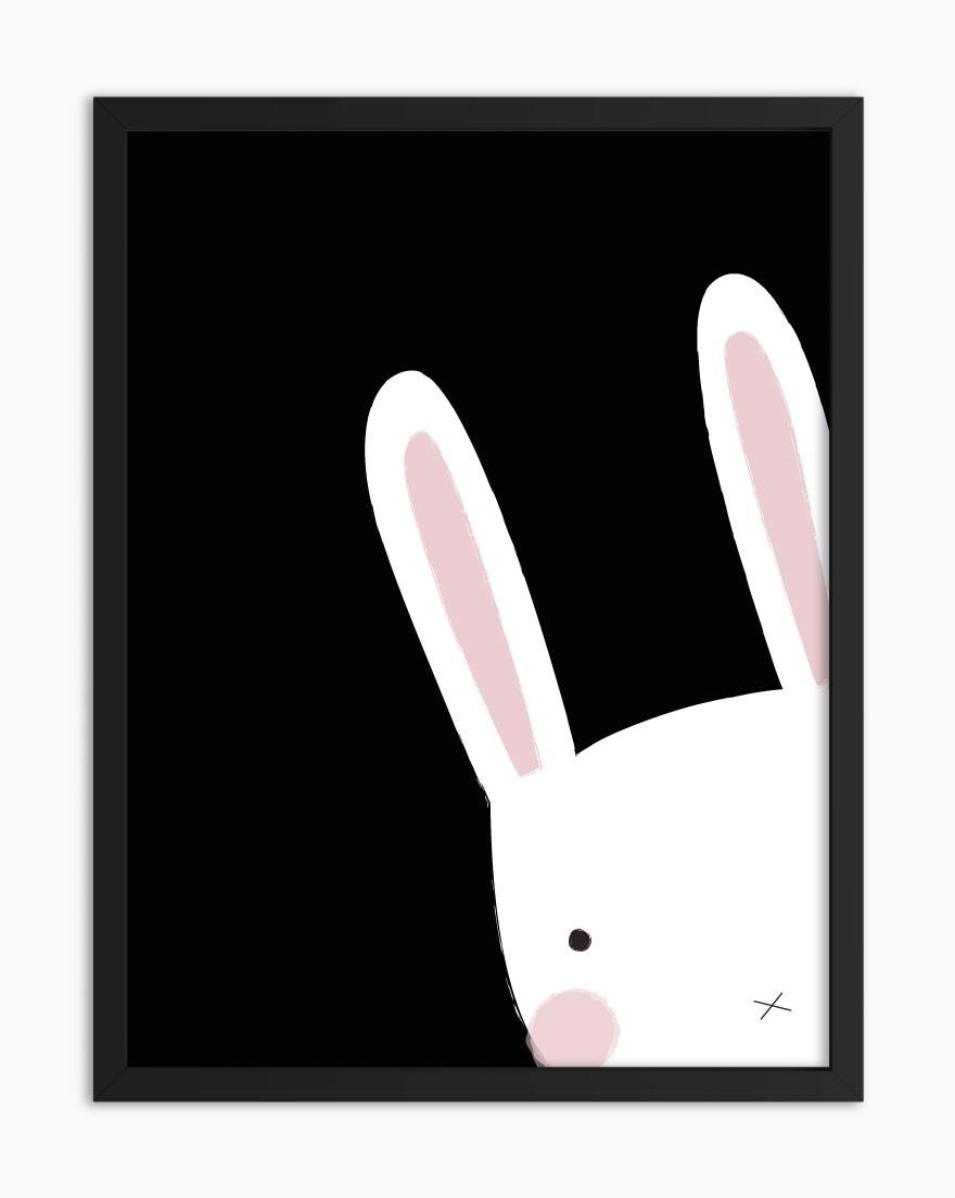 Quadro Little Bunny Black