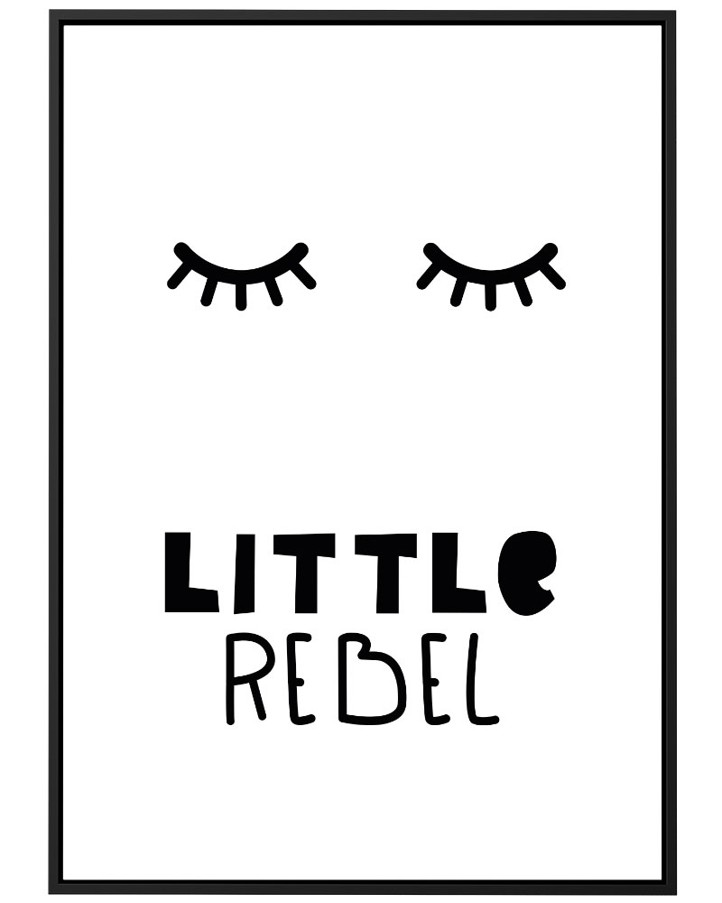 Quadro Little Rebel