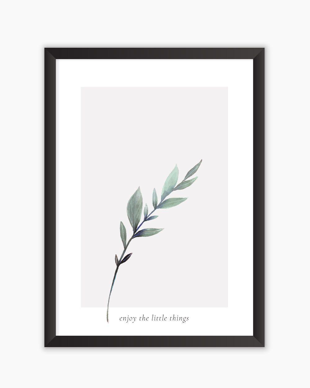 Quadro Little Things - Gren Leaves
