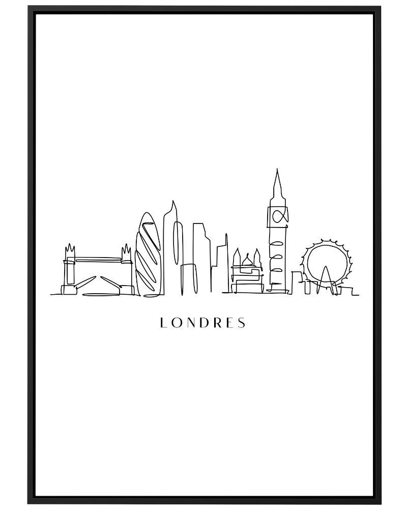 Quadro Londres Line