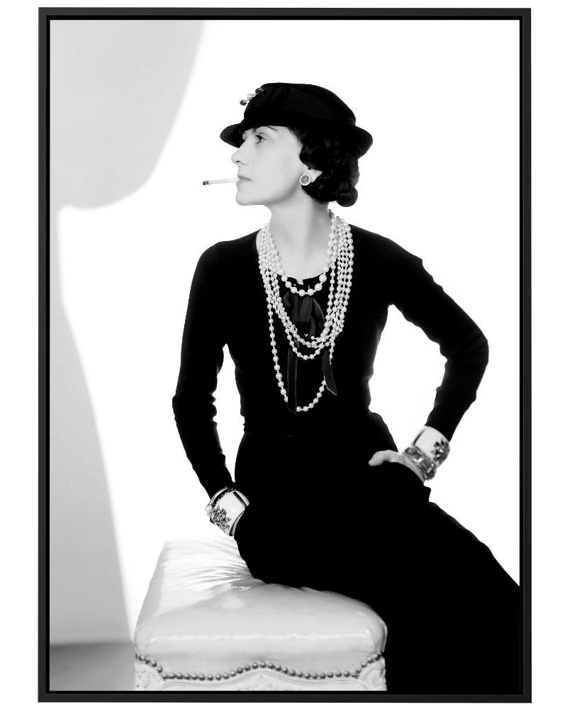 Quadro madame Chanel