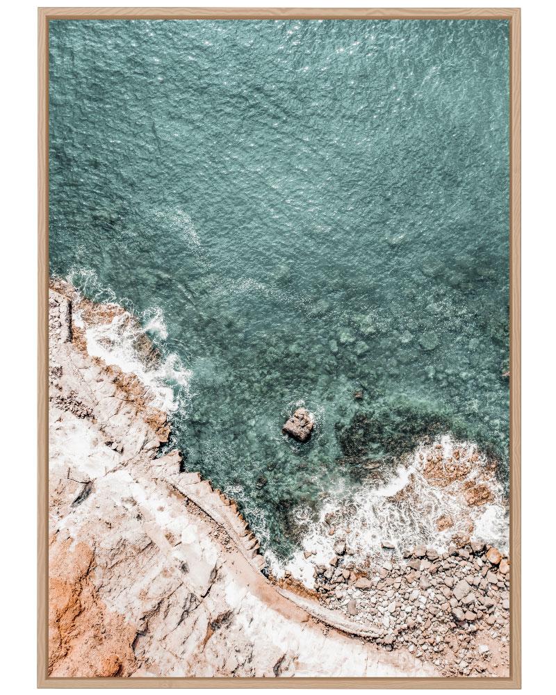 Quadro Mar Esverdeado