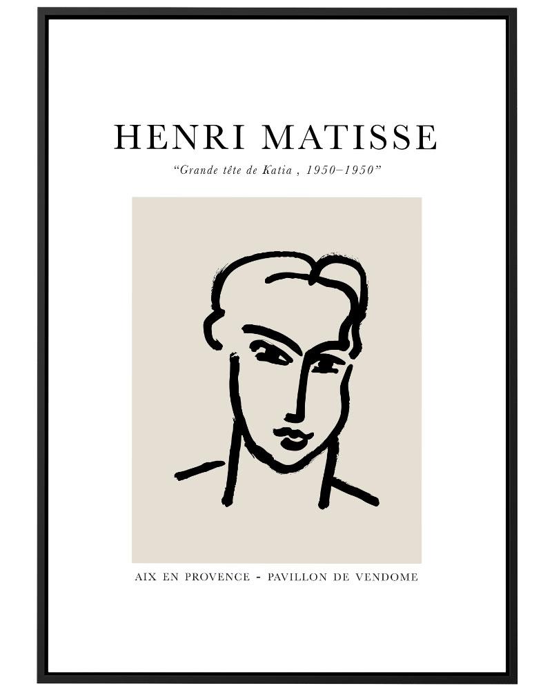 Quadro Matisse Katia
