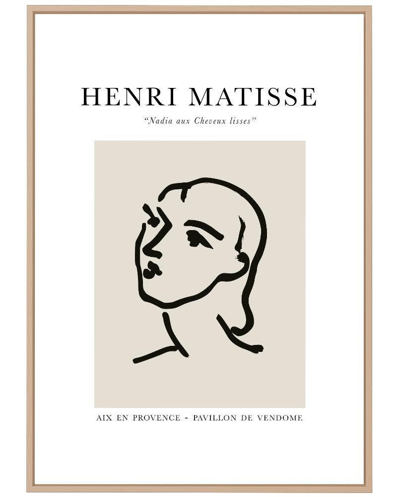 Quadro Matisse Nadia