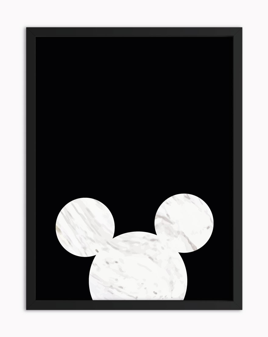 Quadro Mickey Marble