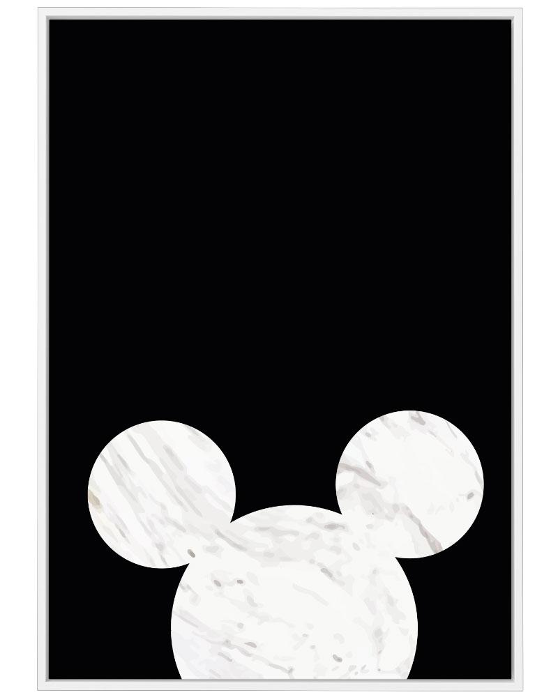 Quadro Mickey Minimalist