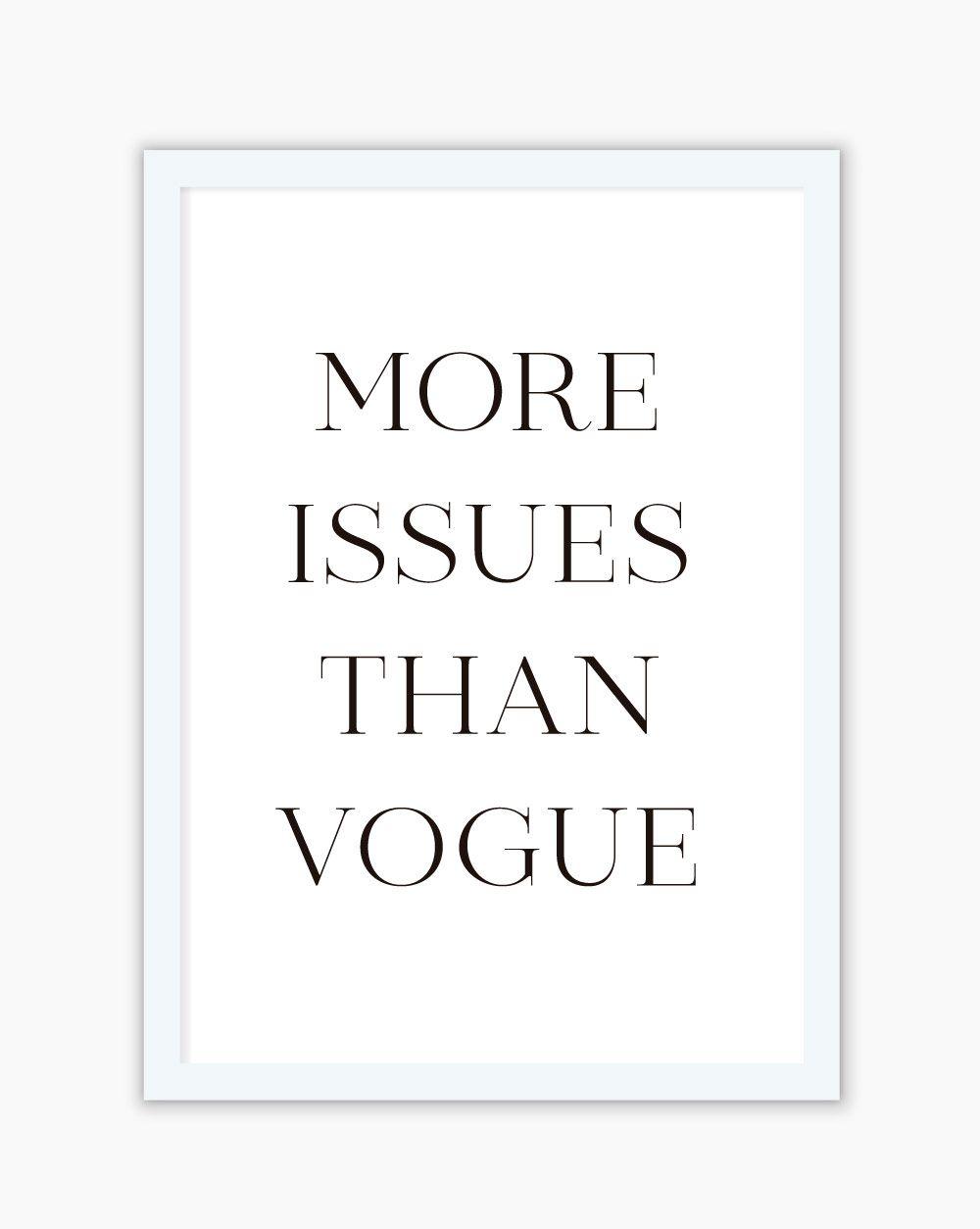 Quadro More Issues Than Vogue