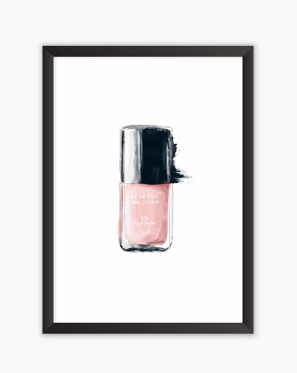 Quadro Nail Polish Watercolor