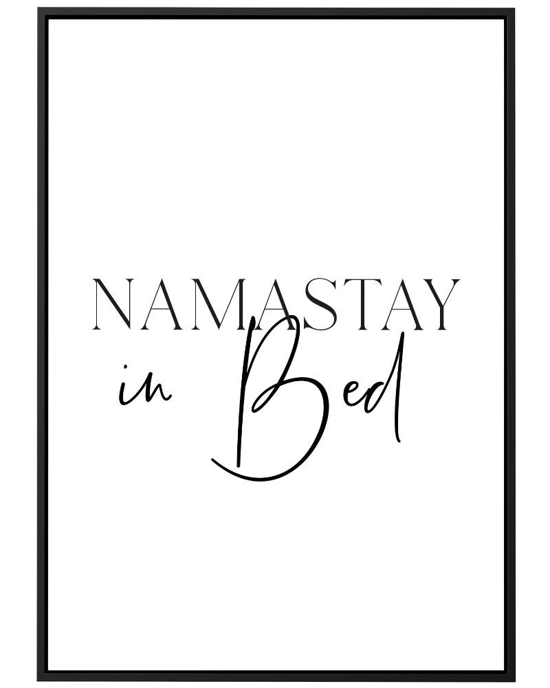 Quadro Namastay in Bed