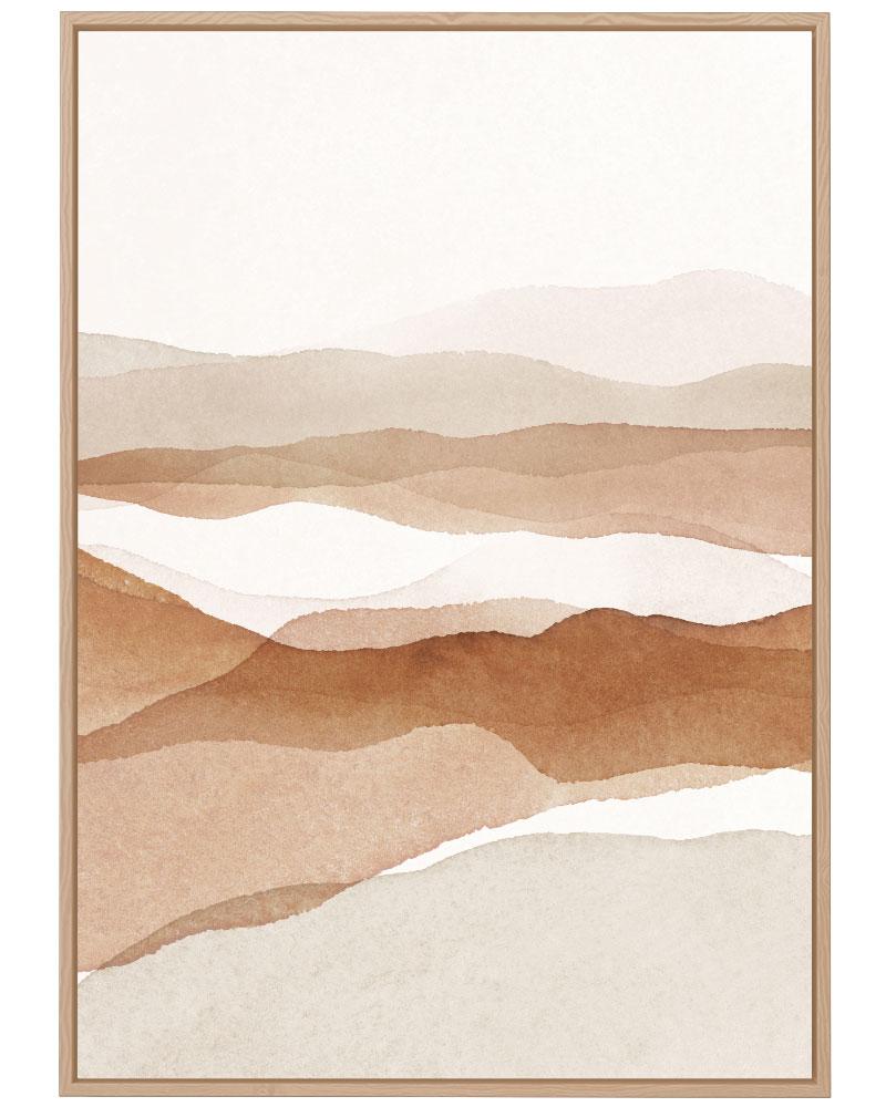 Quadro No Calor do Deserto